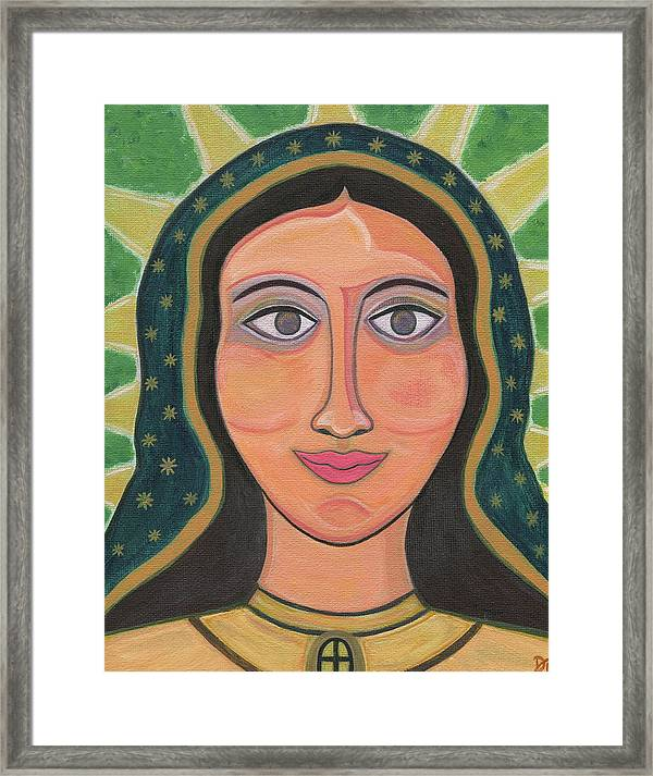 Our Lady Of Guadalupe Framed Print By Danielle Tayabas