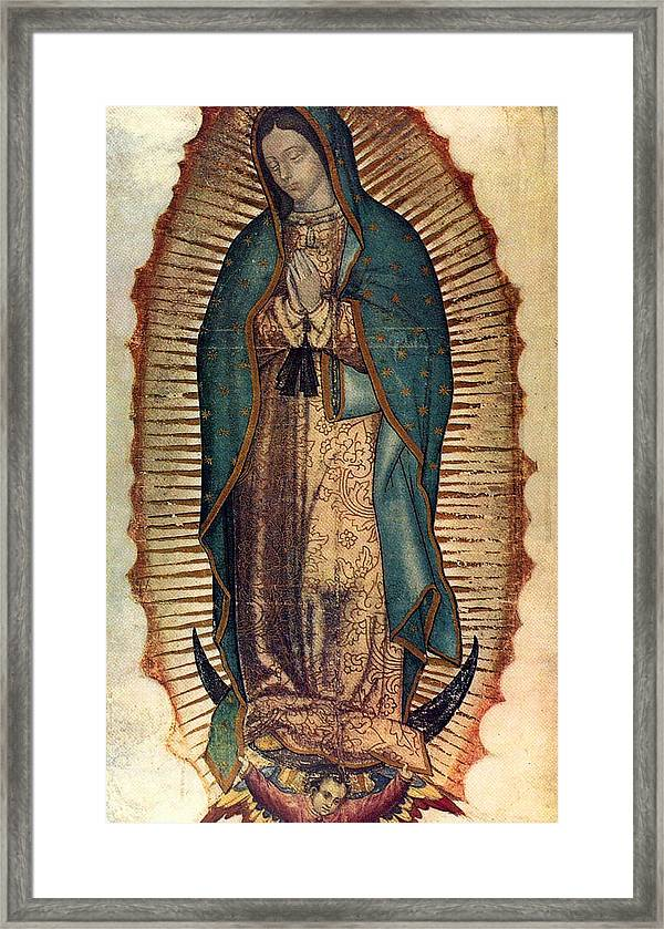 Our Lady Of Guadalupe Framed Print By Pam Neilands
