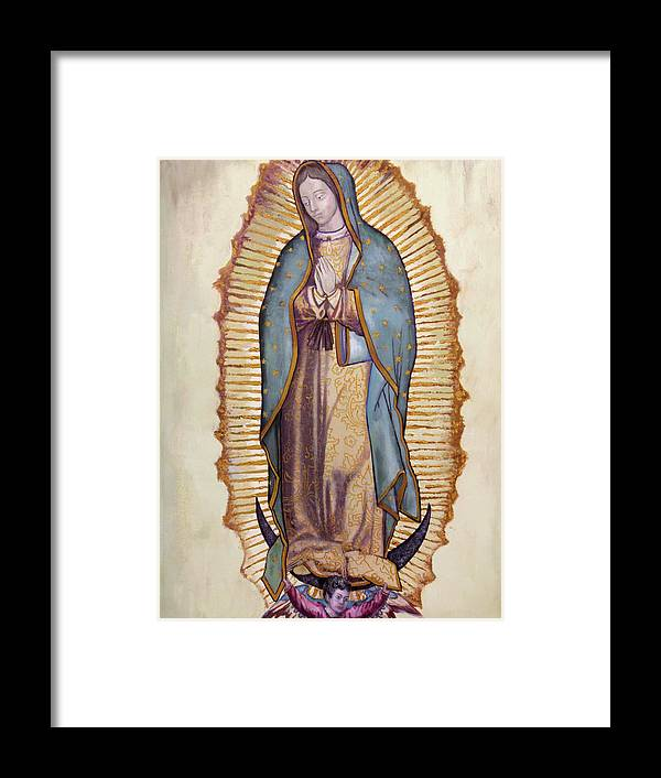 Our Lady Of Guadalupe Framed Print By Richard Barone