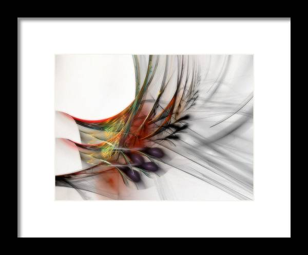 Abstract Framed Print featuring the digital art Our Many Paths by NirvanaBlues
