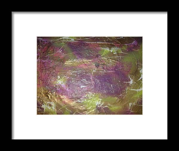 Soul Framed Print featuring the painting Our Ruthless Soul by Paula Andrea Pyle