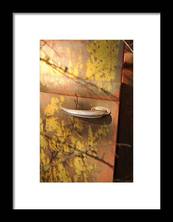 Door Framed Print featuring the photograph Out Doors by Maureen Norcross