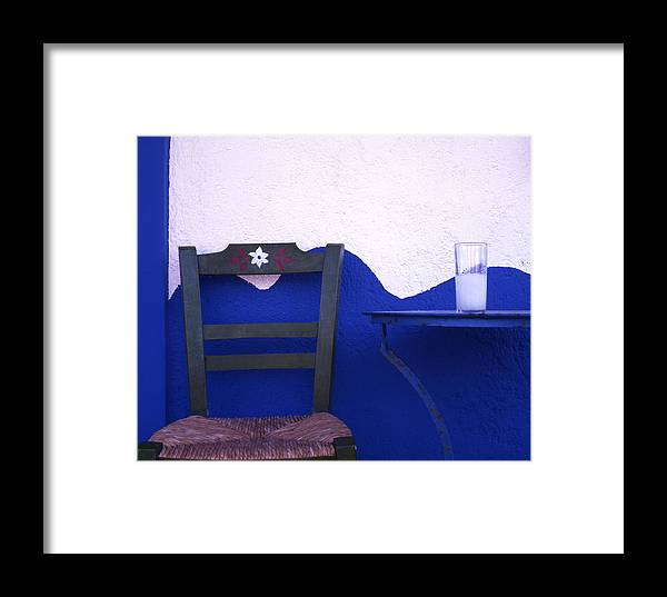 Drink Framed Print featuring the photograph Ouzo by Steve Outram