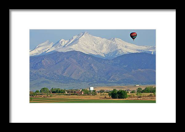 Mountains Framed Print featuring the photograph Over The Mountains by Scott Mahon