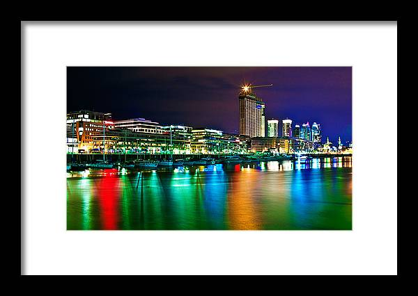 Buenos Framed Print featuring the photograph Over The Rainbow by Francisco Colon