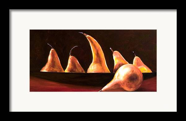Still Life Framed Print featuring the painting Overboard by Shannon Grissom