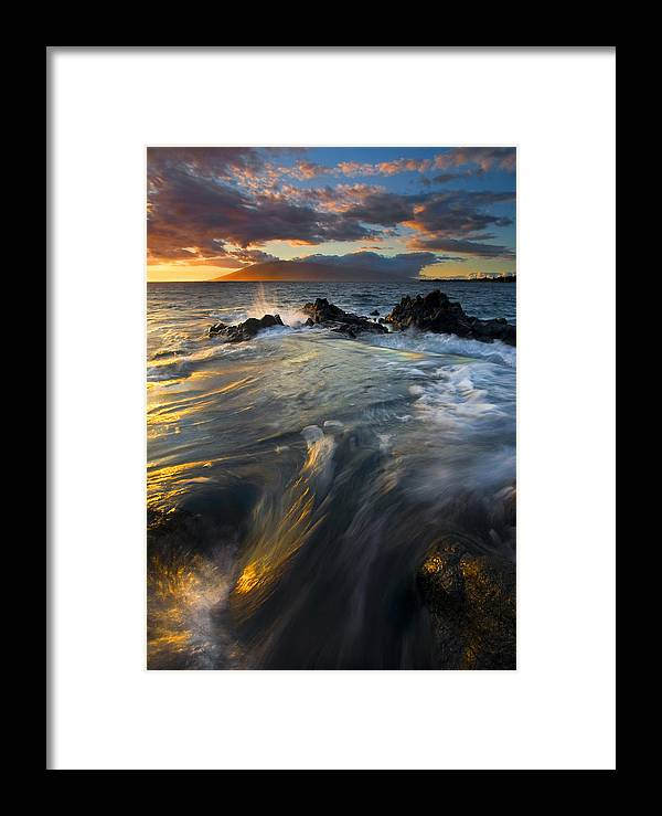 Cauldron Framed Print featuring the photograph Overflow by Mike Dawson