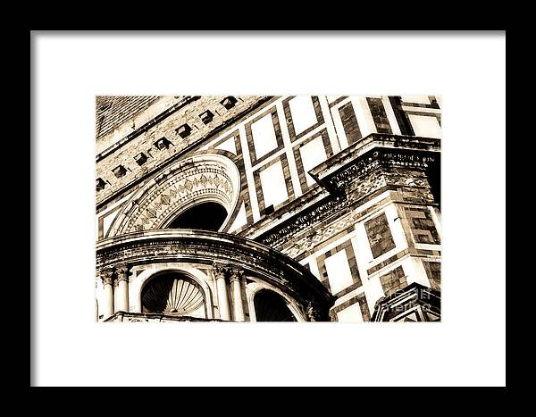 Architecture Framed Print featuring the photograph Overload by Emilio Lovisa