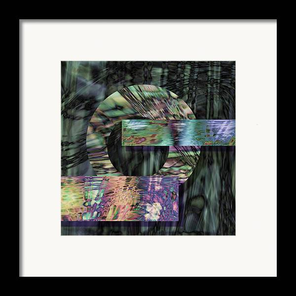 Metal Framed Print featuring the digital art Oxidzed by Gae Helton