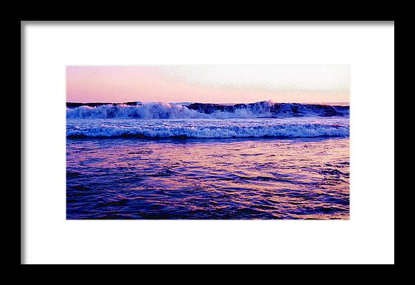 Pacific Ocean Framed Print featuring the photograph Pacifac Sunset 23 Wc by Lyle Crump