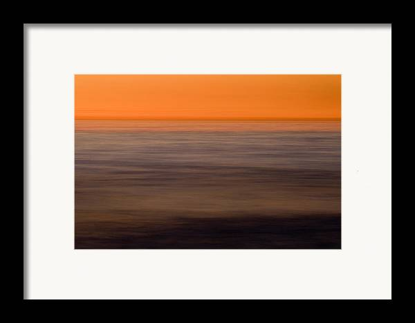 Color Framed Print featuring the photograph Pacific Abstracted by Brad Rickerby