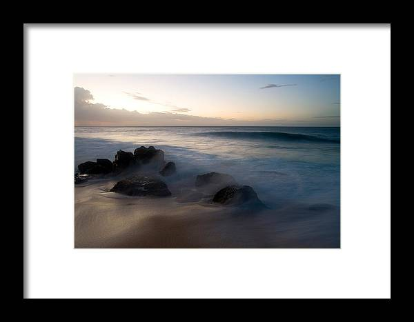 Ocean Framed Print featuring the photograph Pacific Ocean Power - Hawaii by Brad Rickerby