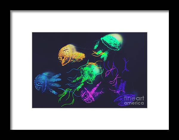 Retro Framed Print featuring the photograph Pacific Pop-art by Jorgo Photography - Wall Art Gallery