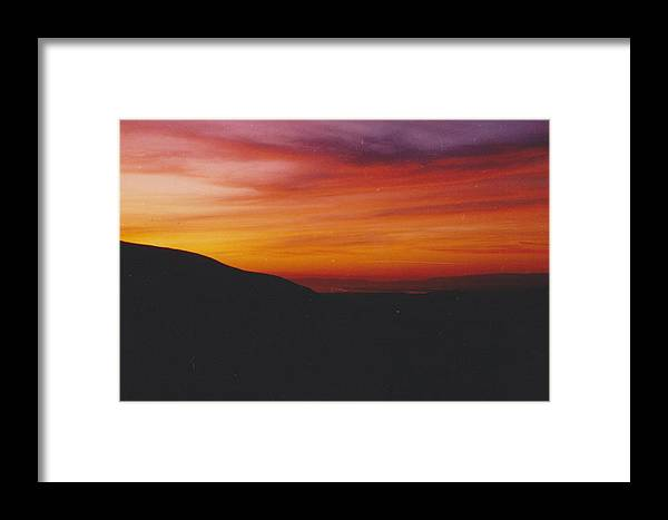 Sunset Framed Print featuring the photograph Pacific Sunset by Mia Alexander