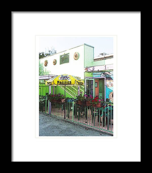 Landscape Framed Print featuring the photograph Pacifico by Deborah Hildinger