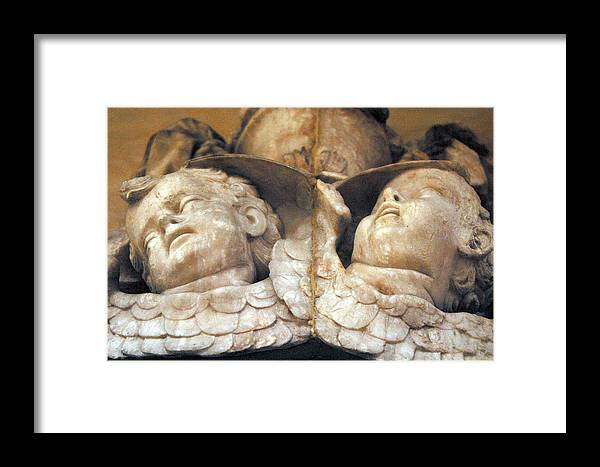 Jez C Self Framed Print featuring the photograph Pain And Anguish by Jez C Self