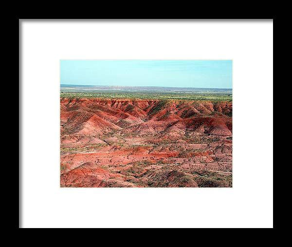 Arizona Framed Print featuring the photograph Painted Desert 3 by Jeanette Oberholtzer