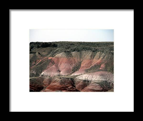 Arizona Framed Print featuring the photograph Painted Desert Arizona by Jeanette Oberholtzer