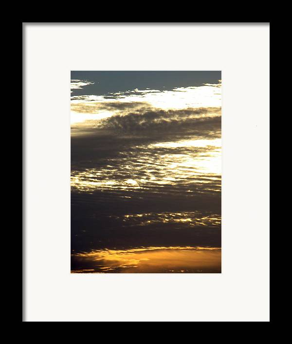 Landscape Framed Print featuring the photograph Painted Sky Three by Ana Villaronga