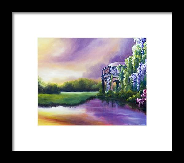 Marsh Framed Print featuring the painting Palace Of The Arts by James Christopher Hill