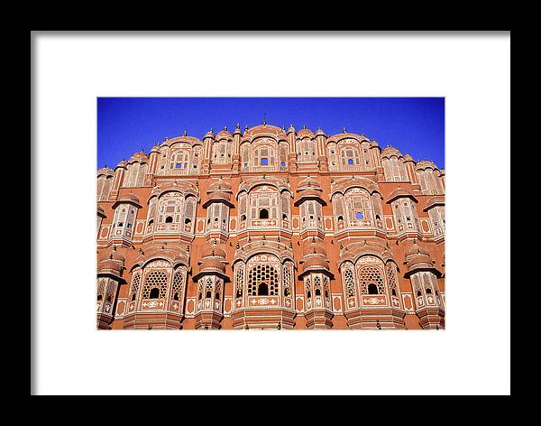 India Framed Print featuring the photograph Palace Of The Wind by Michele Burgess