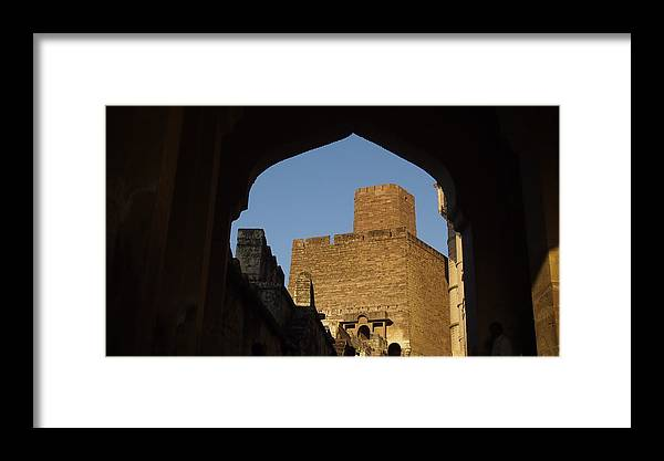 Palace Framed Print featuring the photograph Palace Through The Arch by Sujith Gopinath