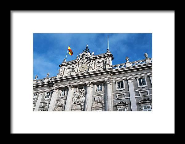 Madrid Framed Print featuring the photograph Palacio Real by Lorraine Devon Wilke