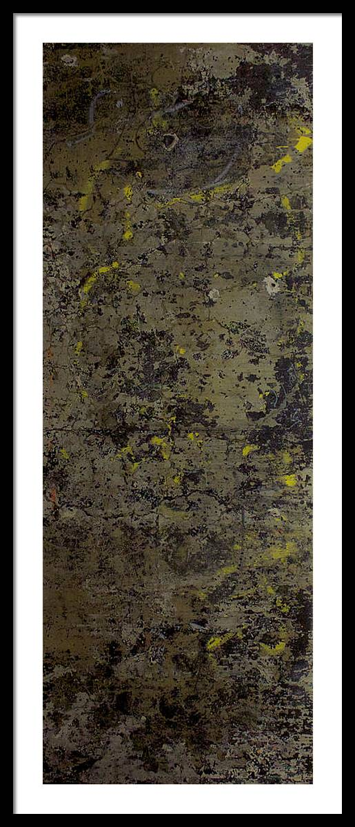 Subtext Framed Print featuring the photograph Palimpsest '2015 by Kenneth rst Vick
