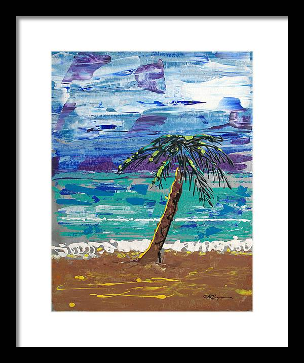 Impressionist Painting Framed Print featuring the painting Palm Beach by J R Seymour
