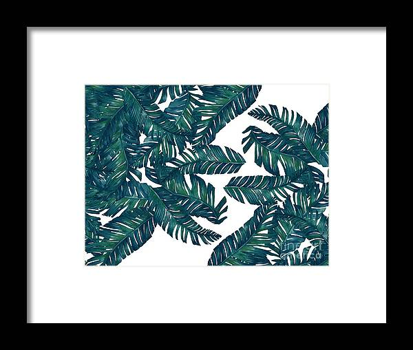 Summer Framed Print featuring the photograph Palm Tree 7 by Mark Ashkenazi