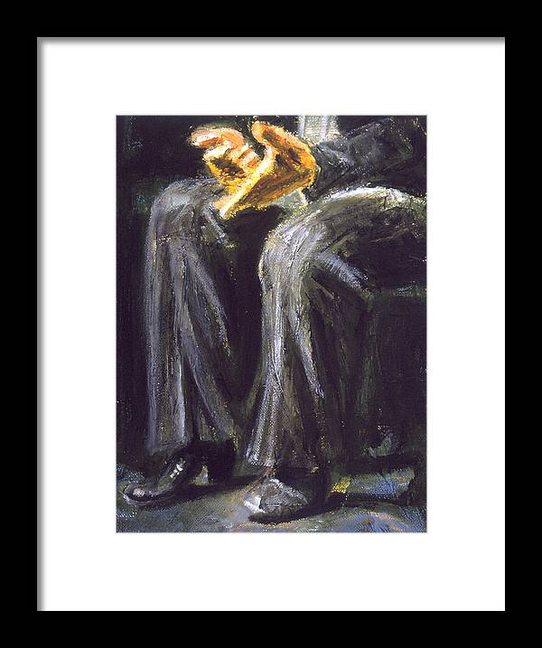 Flamenco Framed Print featuring the painting Palmero by LB Zaftig