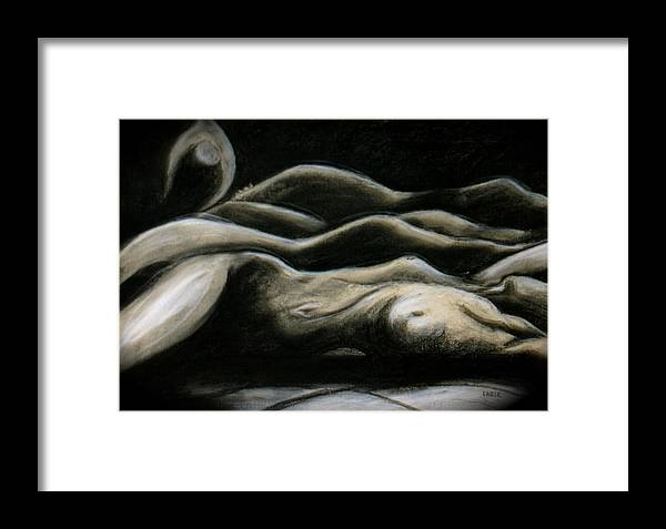 Bodyscapes Framed Print featuring the painting Palouse Dreams by Dan Earle