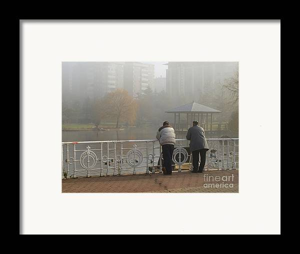Friend Framed Print featuring the photograph Pals by Alfredo Rodriguez