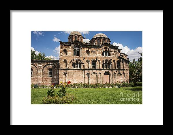 Fatih Framed Print featuring the photograph Pammakaristos Church by Bob Phillips