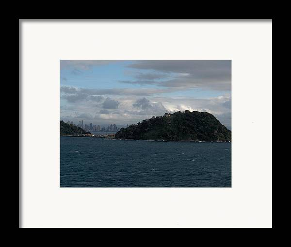 Landscape Framed Print featuring the photograph Panama City by Janet Hall
