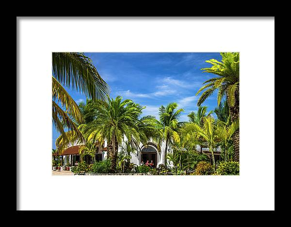 Panchos Framed Print featuring the photograph Panchos Backyard by Fred Boehm