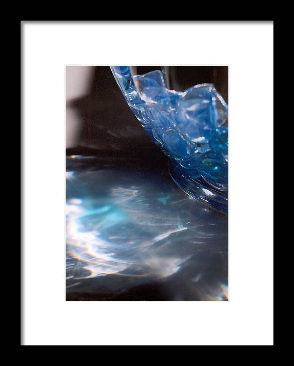 Abstract Framed Print featuring the photograph Panel one from Swirl by Steve Karol