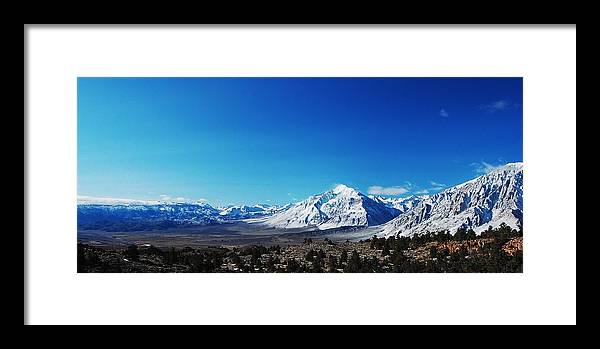 Mountains Framed Print featuring the photograph Panorama by Jessica Roth