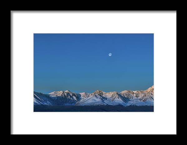 Altitude Framed Print featuring the photograph Panoramic View Of Plain At Root Of Mountains At Summer Night by Oleg Yermolov