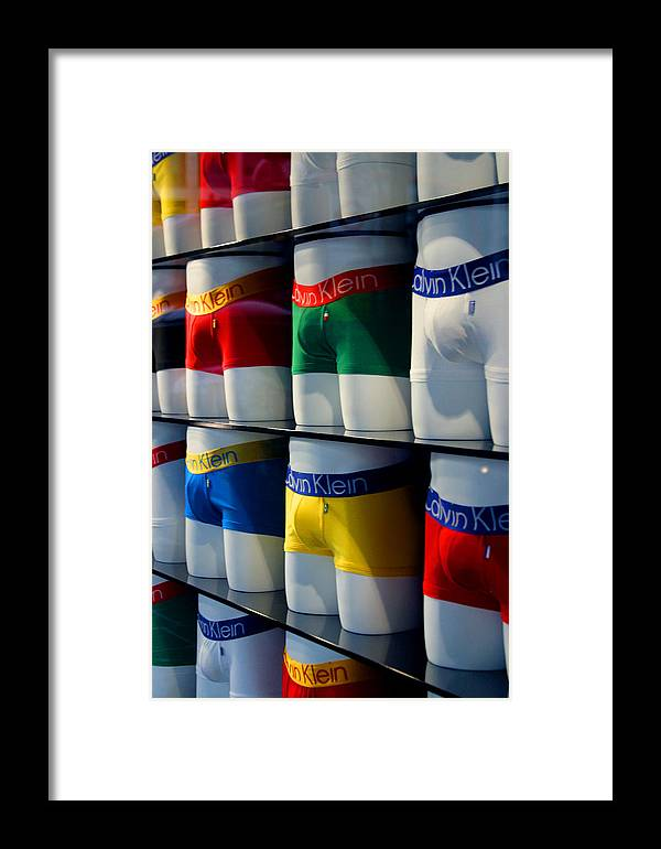 Jez C Self Framed Print featuring the photograph Pant Regard by Jez C Self