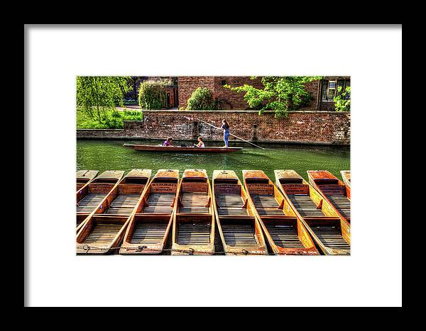 Panting Framed Print featuring the photograph Panting In Cambridge by KonTrasts