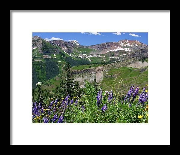 Abundance Framed Print featuring the photograph Paradise Basin by Crystal Garner