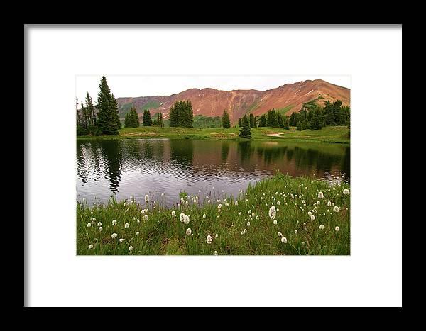 Colorado Framed Print featuring the photograph Paradise Basin by Steve Stuller