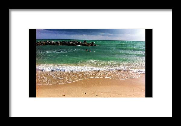 Key West Framed Print featuring the photograph Paradise Dream by Andrew Olinde