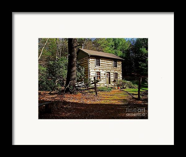 Cabin Framed Print featuring the photograph Paradise by E Robert Dee