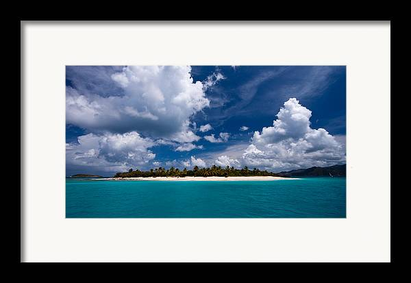 3scape Photos Framed Print featuring the photograph Paradise Is Sandy Cay by Adam Romanowicz