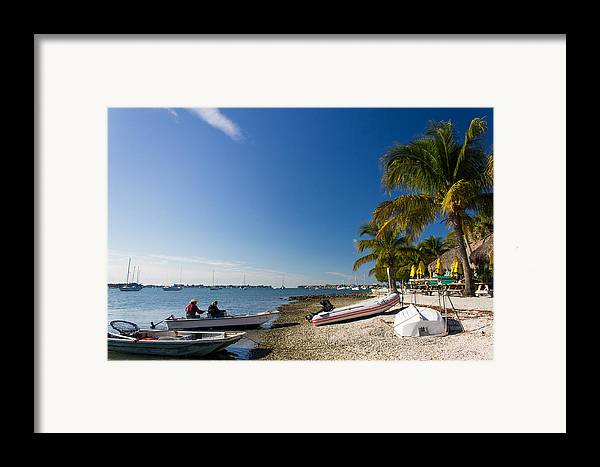 Marina Jacks Framed Print featuring the photograph Paradise by Michael Tesar