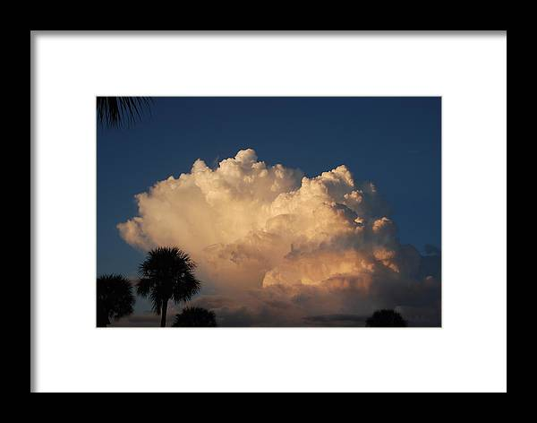Clouds Framed Print featuring the photograph Paradise by Rob Hans