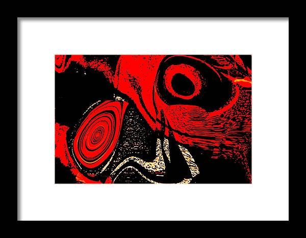 Delusion Framed Print featuring the digital art Paranoid by Max Steinwald