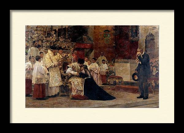 Parents of the celebrant after the New Mass ALCAZAR TEJEDOR, JOSE by Artistic Rifki